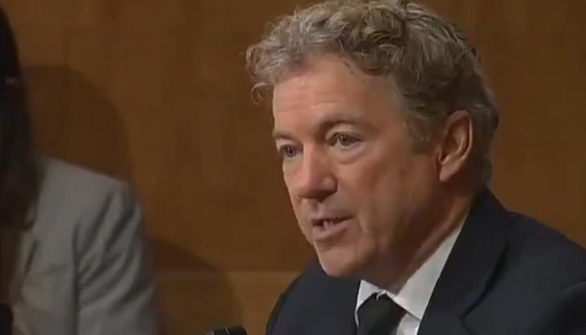 Rand Paul election was stolen